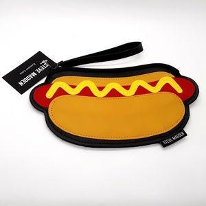 Steve Madden Eyewear Case Mustard Hot Dog